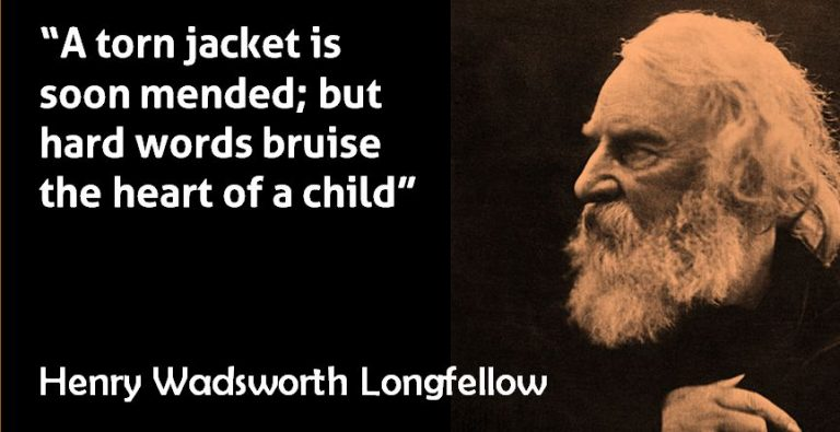 Harsh Words – Henry Wadswoth Longfellow